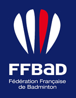 Logo fédération française de badminton