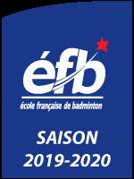 École française de badminton classée 1 étoile pour la saison 2019-2020.